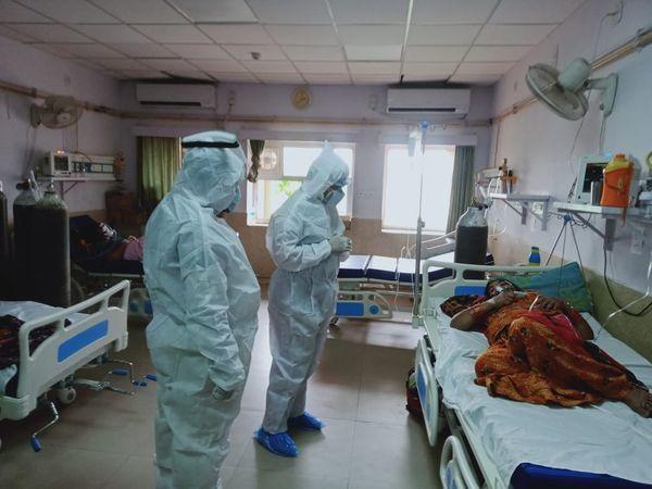 बीकानेर कोविड अस्पताल। - Dainik Bhaskar