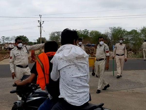 कोरोना कर्फ्यू बढ़ाने का निर्णय लिया - Dainik Bhaskar