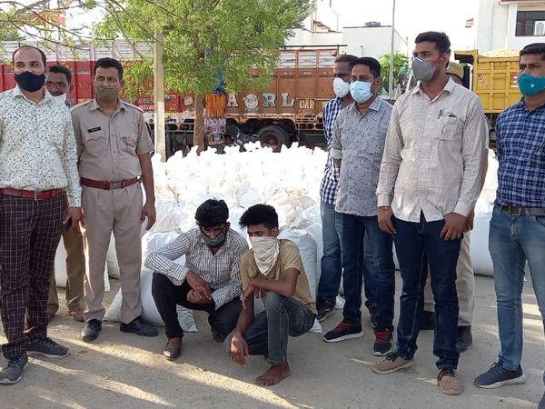 डोडाचूरा तस्करी के मामले में दो आरोपियों को पकड़ा। - Dainik Bhaskar