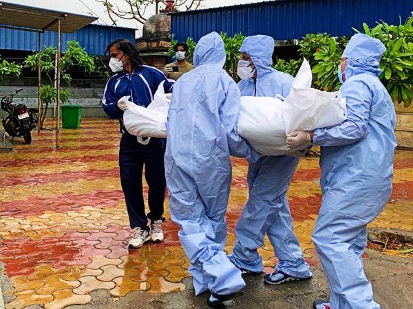 कोरोना की चपेट में आने से उदयपुर में अब तक 640 मरीजों की हो चुकी है मौत। - Dainik Bhaskar