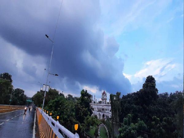 यास तूफान बिहार के दक्षिण हिस्से में कमजोर हो चुका है।- सिबॉलिक इमेज - Dainik Bhaskar