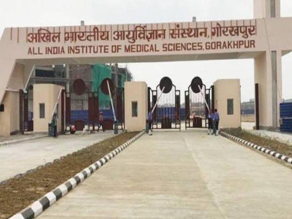 गोरखपुर में एम्स की की ओपीडी स� - Dainik Bhaskar