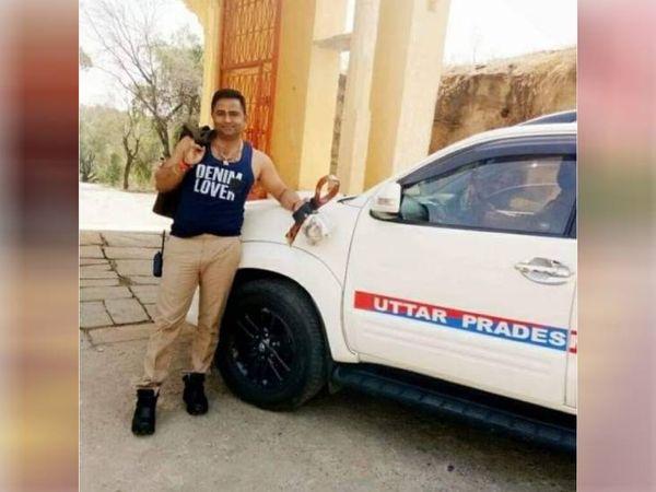 सिपाही अजय सिंह पर करोड़ों की सम्पति का मालिक होने का आरोप लगा है। - Dainik Bhaskar