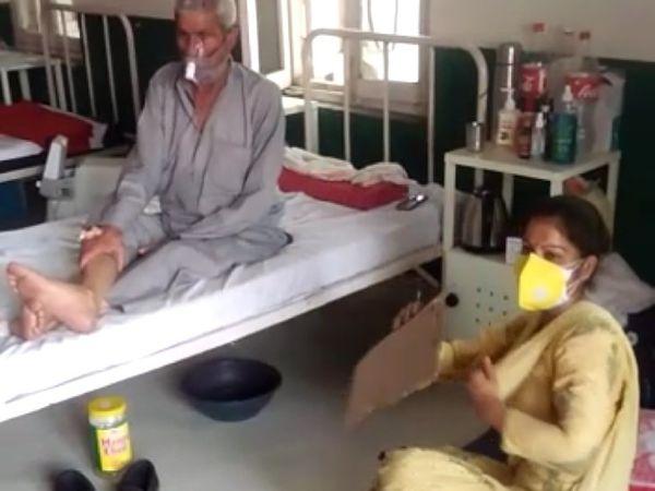 घुमारवीं। तपती गर्मी में कोविड सेंटर घुमारवीं में मरीजों को न तो पंखे और नहीं पेयजल मरीजों को मिल रहा है। - Dainik Bhaskar