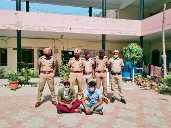 साहा | अपहरण मामले में पकड़े गए अाराेपी। - Dainik Bhaskar