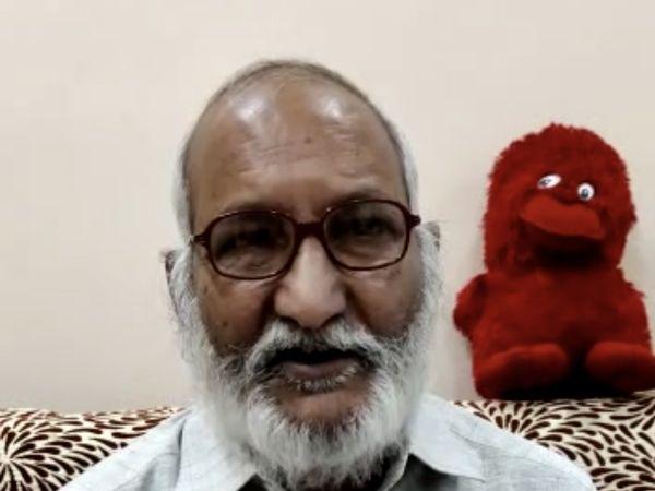 पीड़ित किसान सुरेंद्र दुबे - Dainik Bhaskar