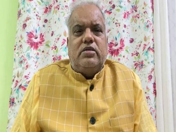 श्रवण कुमार, ग्रामीण विकास मंत्री। - Dainik Bhaskar