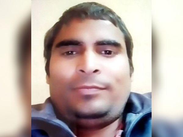 पलवल। मृतक महेंद्र सिंह का फाइल फोटो। - Dainik Bhaskar