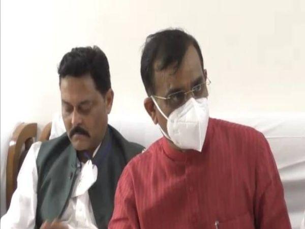 वीडी शर्मा ने कमलनाथ पर लगाए आरोप। - Dainik Bhaskar