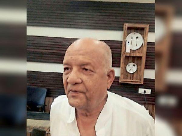 गाैरीशंकर मंडावेवाला, मुख्य ट्रस्टी - Dainik Bhaskar