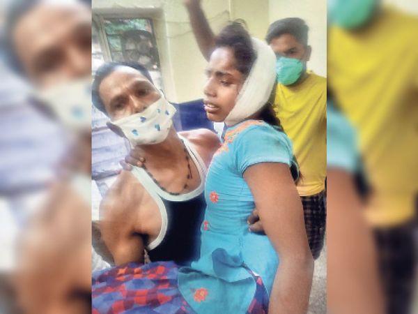 देईखेड़ा. दिल्ली-मुंबई मुख्य रेलमार्ग पर ट्रेन की चपेट में आकर घायल हुई दो बहनें। - Dainik Bhaskar