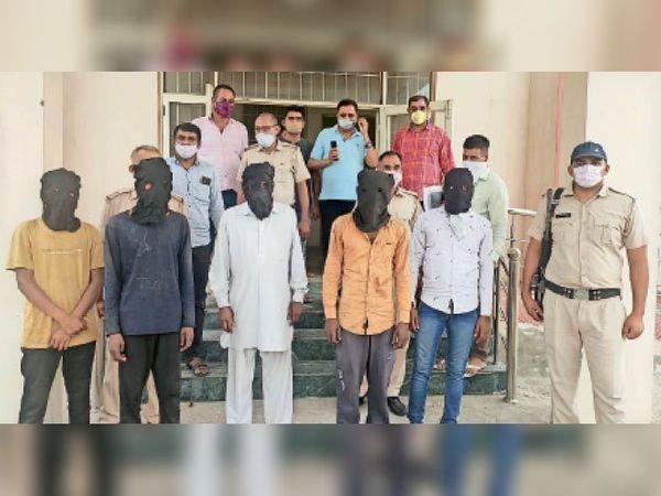 सुखबीर हत्याकांड के आरोपी पुलिस गिरफ्त में। - Dainik Bhaskar