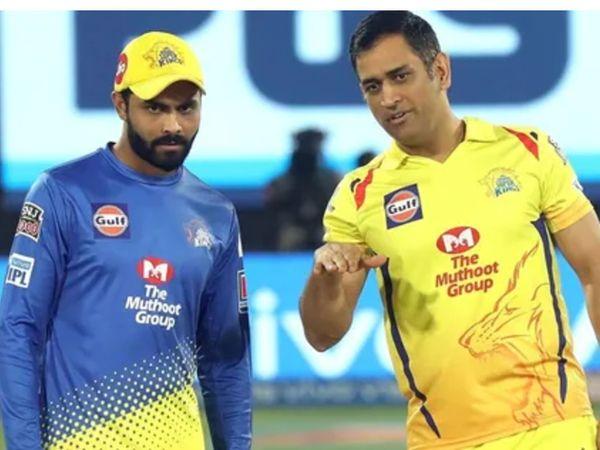 रविंद्र जडेजा IPL-2021 में चेन्नई सुपर किंग्स की ओर से खेले। - Dainik Bhaskar