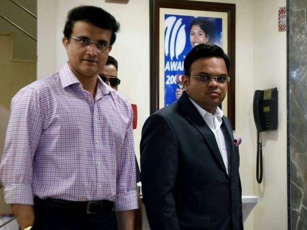 एमिरेट्स क्रिकेट एसोसिएशन (ECB) के साथ रेवेन्यू शेयरिंग और पिचों को लेकर चर्चा कर सकते हैं गांगुली और जय शाह। - Dainik Bhaskar