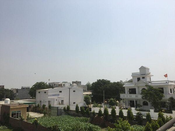 पानीपत में सुबह के समय तेज धूप खिली। - Dainik Bhaskar