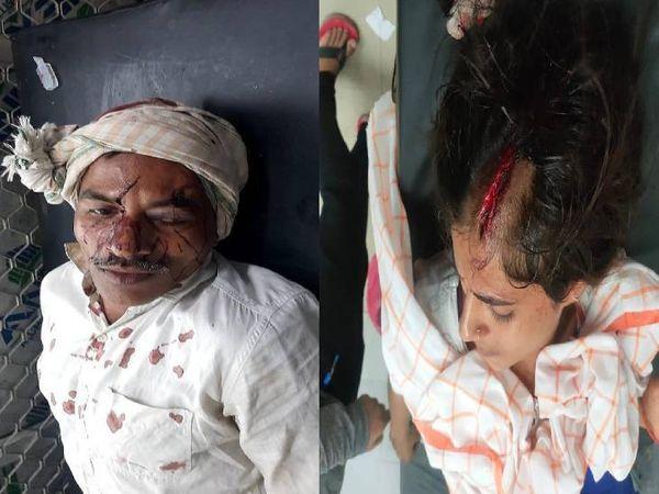 प्रधान के घर में घुसकर धारदार हथियारों से हमला। - Dainik Bhaskar