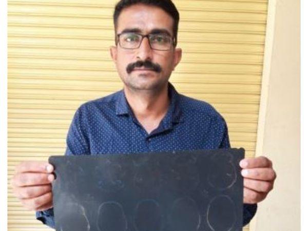 ब्यावर के फरीद 8 साल से अपने सिर में गोली लेकर घूम रहा है और दर-दर की ठोकरें खाने को मजबूर है। - Dainik Bhaskar