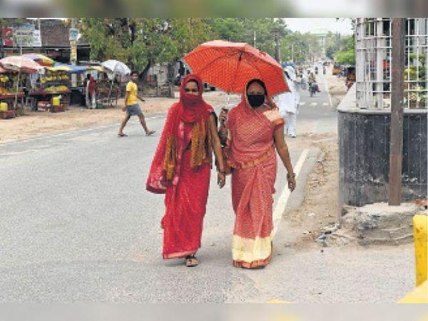 रविवार को अधिकतम तापमान सिटी में 37 डिग्री के करीब ही रिकॉर्ड किया गया है - Dainik Bhaskar