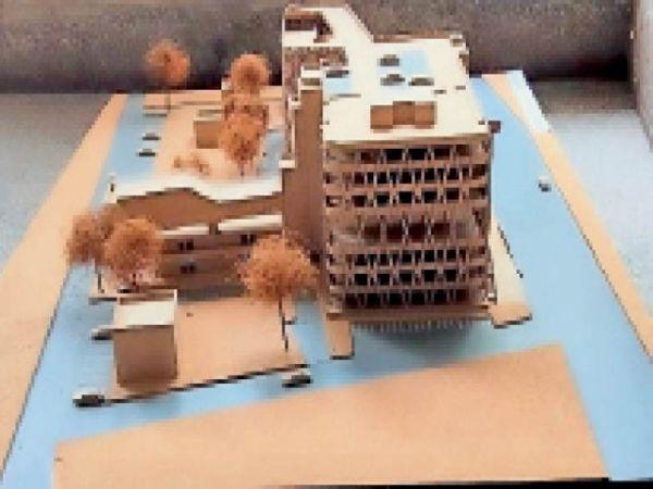 डिजाइन तैयार कराने के लिए ट्रस्ट ने आर्किटेक्ट्स में कंपीटिशन कराया था। - Dainik Bhaskar