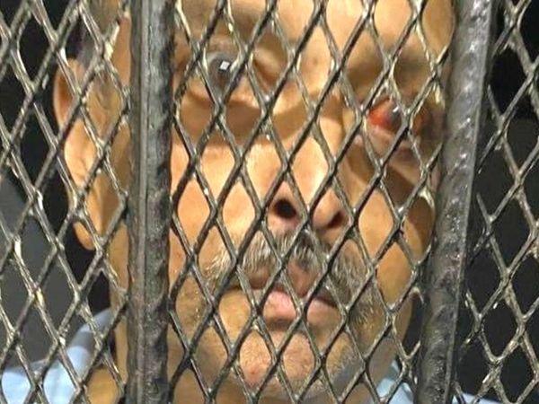 फोटो पिछले हफ्ते की है। तब चौकसी डोमिनिका की जेल में था। अब क्वारैंटीन सेंटर में उसे रखा गया है। - Dainik Bhaskar