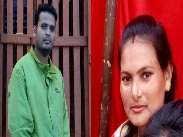 22 मई की रात को तुलेश और सुमित्रा उर्फ सुमन की हत्या कर दी गई थी। इसके बाद से ही आरोपी फरार चल रहा था।