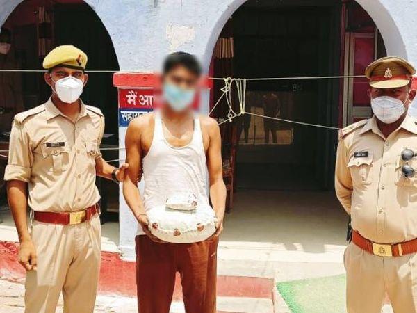 शातिर अभियुक्त करीब एक दशक से मादक पदार्थों की बिक्री कर पुलिस के लिए सिरदर्द बना हुआ है l अनेक बार जेल भी जा चुका है l - Dainik Bhaskar