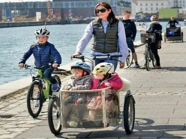 डेनमार्क में 41% आवाजाही साइकिलों से होती है, 2025 तक इसे 50% करने का लक्ष्य है। - Dainik Bhaskar