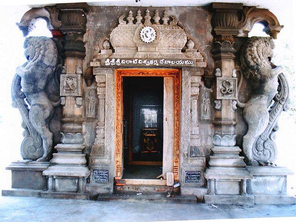 आंध्रप्रदेश के मछलीपटनम स्थित प्राचीन विश्वकर्मा मंदिर। (फोटो साभार : नागामल्ली) - Dainik Bhaskar