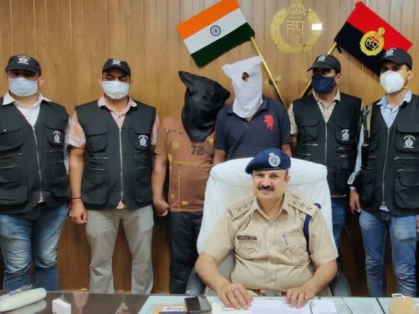 आरडी सिटी में कैशियर से लूट करने वाले चौथे आरोपी को गिरफ्तार कर लिया गया। - Dainik Bhaskar
