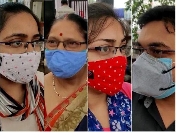 पटना के गर्दनीबाग वैक्सीन सेंटर पर आए लोगों ने प्रोटोकॉल के आधे-अधूरे पालन होने की शिकायत की। - Dainik Bhaskar