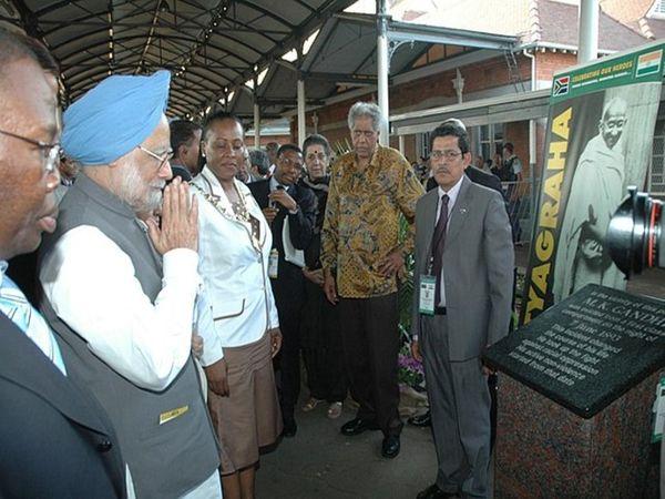 सितंबर 2006 में तत्कालीन प्रधानमंत्री मनमोहन सिंह ने पीटरमारित्जबर्ग का दौरा किया था।