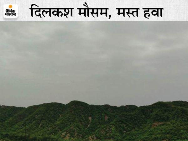 जयपुर में रविवार को सुबह हल्के बादल छाए रहे। लेकिन दोपहर को तेज गर्मी और शाम को गर्म हवाओं ने झुलसा दिया - Dainik Bhaskar