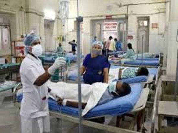 बेमेतरा जिले में मिलें ब्लैक फंगस के मरीजों का रायपुर के अलग-अलग हॉस्पिटल में इलाज जारी है। - Dainik Bhaskar