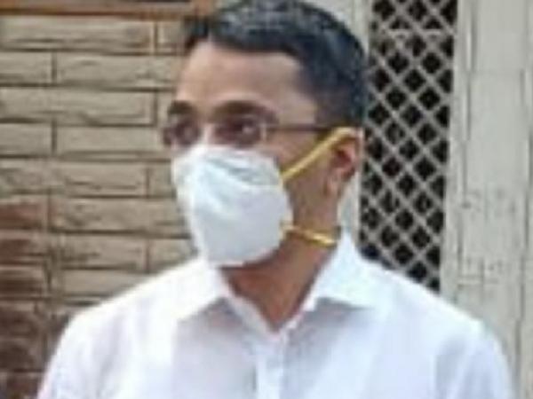 बिजली कंपनी के एमडी गणेश शंकर मिश्रा। - Dainik Bhaskar