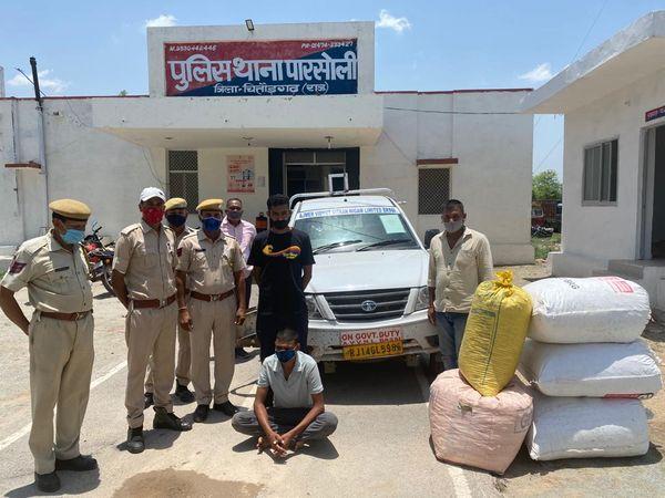 डोडाचूरा के साथ बिजली विभाग का कर्मचारी को किया गिरफ्तार। - Dainik Bhaskar