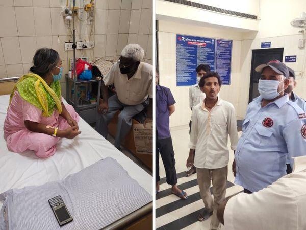 अस्पताल ने खड़े किए हाथ, कहा चोरी तो आम बात। - Dainik Bhaskar