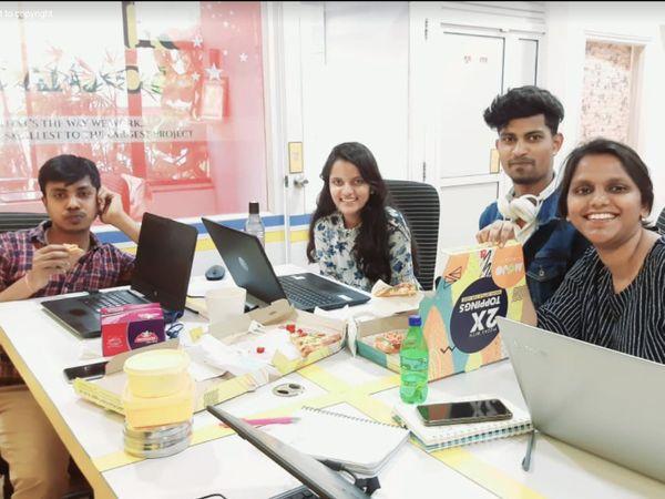 सुधांशु की टीम में अभी 20 लोग काम करते हैं। लॉकडाउन के बाद सभी वर्क फ्रॉम होम काम कर रहे हैं।