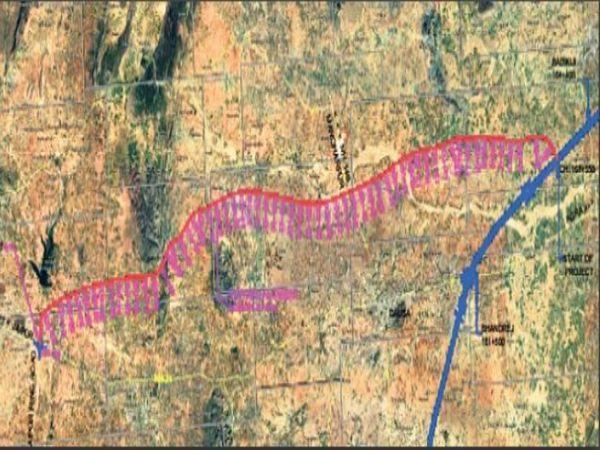 जयपुर और दौसा के 85 गांवों से होकर गुजरेगी रोड, 70 किमी की दूरी में तीन जगह होंगे टोल प्लाजा सड़क बनने से मुंबई, इंदाैर, भाेपाल तथा उज्जैन की दूरी 105 किमी कम होगी और 2 घंटे भी बचेंगें