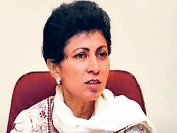 हरियाणा कांग्रेस अध्यक्ष कुमारी सैलजा - Dainik Bhaskar