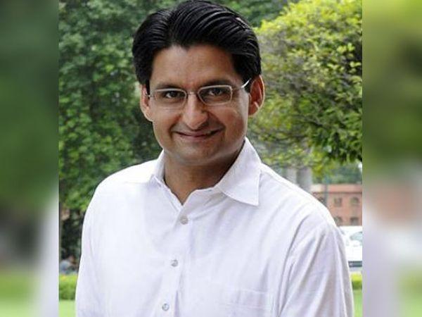 राज्य सभा सांसद दीपेंद्र हुड्डा - Dainik Bhaskar