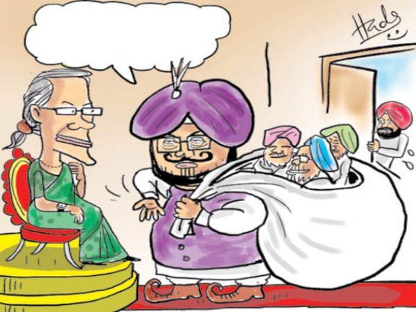भगवंत मान और हरपाल सिंह चीमा को पंजाब की कमान सौंपी जाने की मांग भी मुखर हो रही है। - Dainik Bhaskar