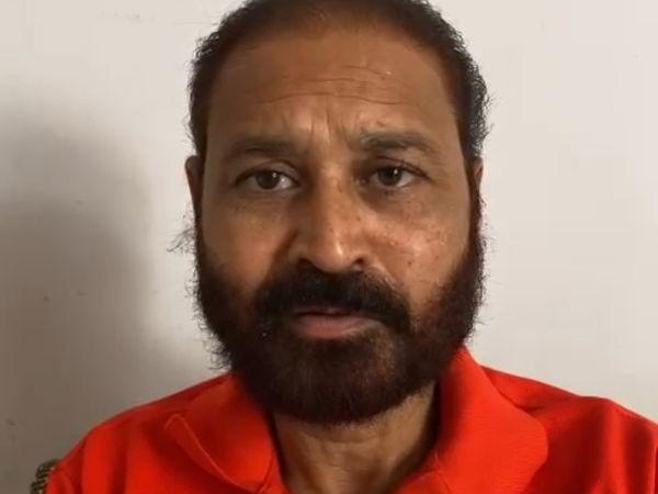 धारीवाल के बयान के बाद कोटा दक्षिण से बीजेपी विधायक संदीप शर्मा ने डोटासरा-धारीवाल विवाद पर चुटकी ली है। - Dainik Bhaskar