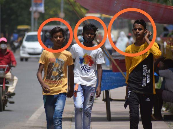प्रयागराज में 2,65,580 लोगों का चालान, रोज 70 हजार रुपए की औसत वसूली। सार्वजनिक स्थानों पर थूकने पर वसूले 3.80 लाख रुपए। - Dainik Bhaskar