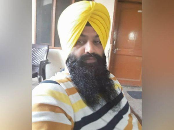 हत्या के मामले में आरोपी लखविंदर सिंह उर्फ लक्खा बाबा, जिसकी जेल में हत्या कर दी गई। -फाइल फोटो - Dainik Bhaskar
