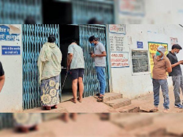 लैब लगाने वाली कंपनी ने सीएमएचओ से मांगे जरूरी उपकरण। - Dainik Bhaskar