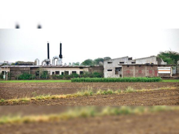 बंद पड़ी साबुन की फैक्टरी - Dainik Bhaskar