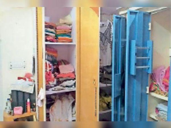 बांदीकुई चोरों ने डॉक्टर के सूने मकान में तोड़ी अलमारियां। - Dainik Bhaskar