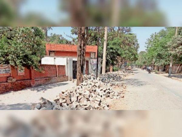 यमुनानगर| इस रोड का होना है सुदृढ़ीकरण। - Dainik Bhaskar