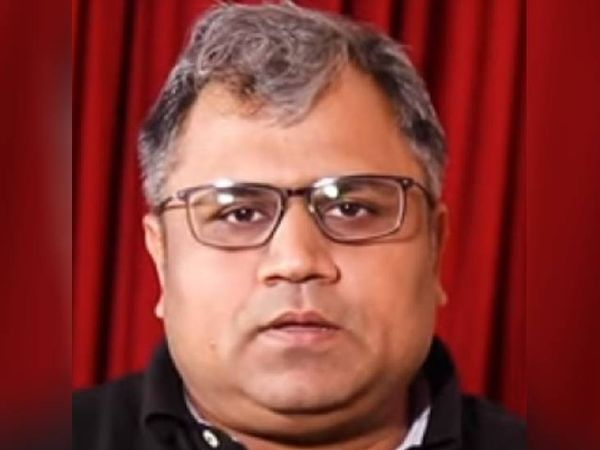 मुख्यमंत्री शिवराज सिंह चौहान के नए OSD तुषार पांचाल। - Dainik Bhaskar