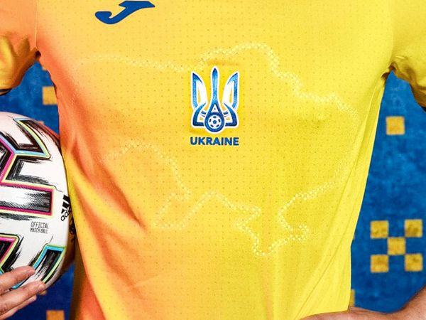 यूक्रेन की इस नई जर्सी में क्रीमिया को अपना बताया। इसका रूस ने विरोध किया है। - Dainik Bhaskar